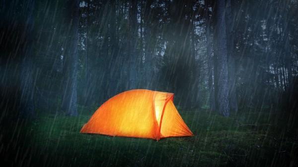 Rain Camping Tips