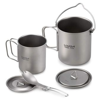 Backpack Camping Cookware sets