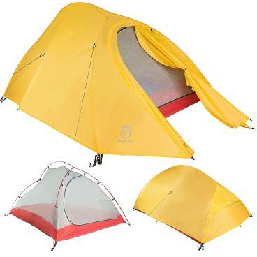Bikepacking emergency survival tent