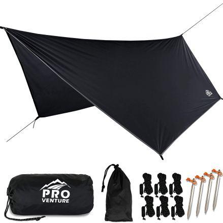 Pro Venture [12 FT Hex Waterproof Hammock RAIN Fly