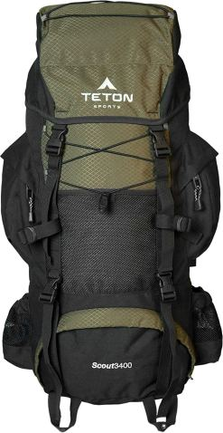 Off Trail Camping Backpack For Beginners