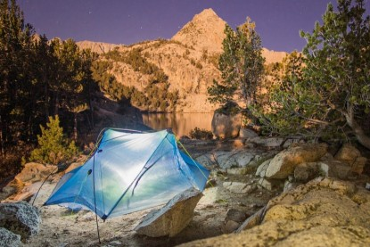 Ultralight back country camping tents