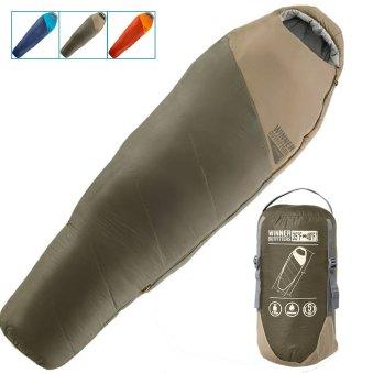 Back country hiking mummy sleeping bag