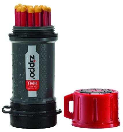 Zippo Typhoon Matches and Match Kit for campfire starting