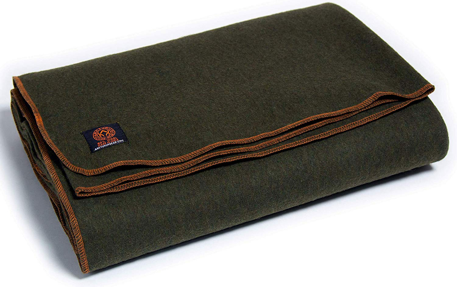Arcturus Military Wool Blanket For Tent Camping