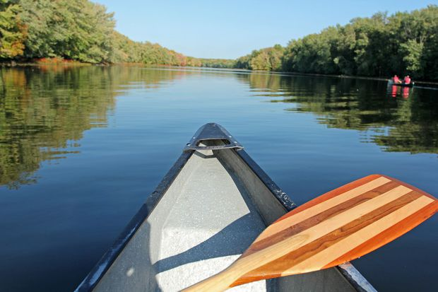 Canoeing fun things to do with kids while camping