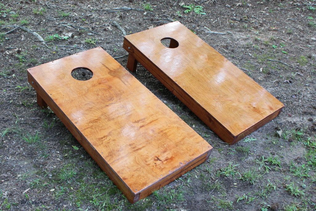 Things to do with kids while camping Cornhole