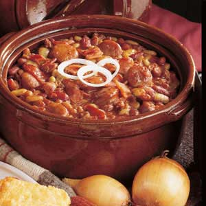 campfire baked beans recipe