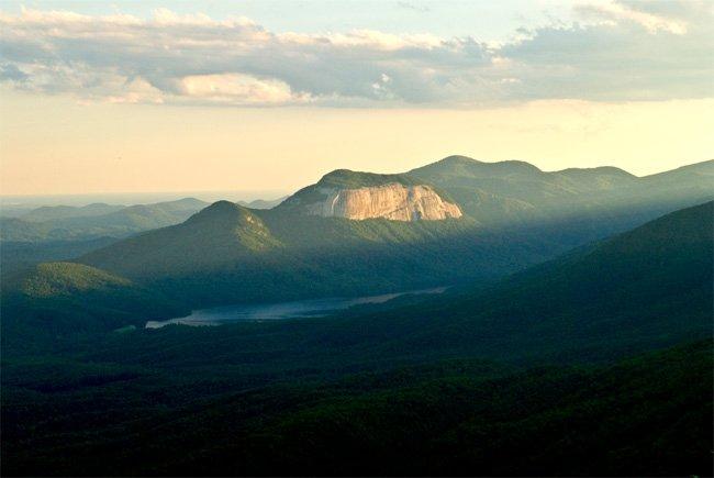 Table Rock State Park South Carolina
